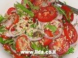 Салат с бургулем