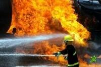 Гигантский пожар в Ашдоде (фото)