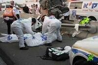 Авария на шоссе Тель-Авив - Иерусалим