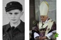 Папа Бенедикт XVI в гитлерюгенде (фото)