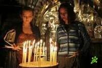 Атрада Минит у гроба Христа в Иерусалиме