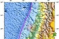 В Чили произошло землетрясение магнитудой 7,2