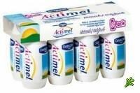 Йогурты Activia и Actimel не лечебны