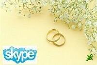 Skype спас свадебную церемонию