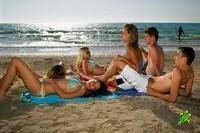 Запрещено купаться на пляжах!