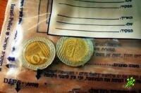 Проверяйте монеты достоинством 10 шекелей