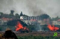 В центре Израиля горят дома и леса
