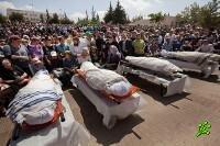 Израиль простился с жертвами теракта