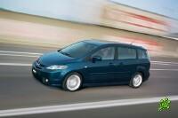 Отзыв минивэнов Mazda 5 в Израиле