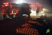 Курение наргилы причина пожара на Кармель