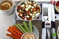 Новые завтраки для пассажиров в El Al