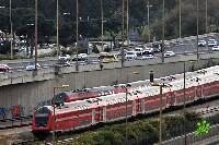 Лобовое столкновение поездов в Нетании