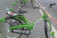 Станции проката велосипедов в Тель-Авиве