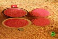 Варёная колбаса в стакане