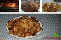 Курица в мандариновом соусе (эксклюзив)