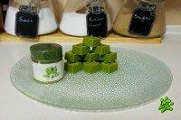 Зеленый японский шоколад