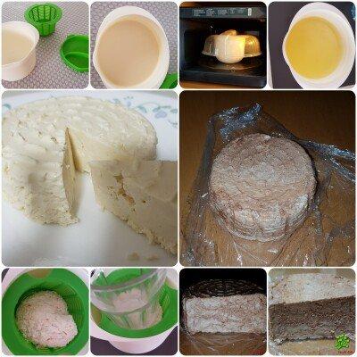 Делаем сыр в микроволновке за 15 минут