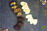 Украшенный шоколад
