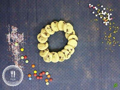 Фисташковые печеньки