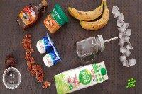Бананово-арахисовый милкшейк