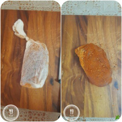 Балык (лакс) из куриной грудки, дома без копчения