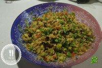Теплый салат с киноа, аля Тоболе
